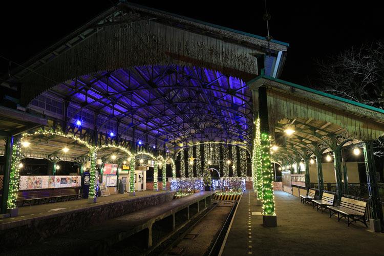 八瀬比叡山口「Illumi-station」_e0051888_07061900.jpg