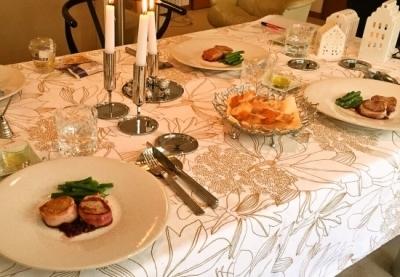 『パリのクリスマスランチ』 レッスン終了しました お料理編_c0237291_09165763.jpg