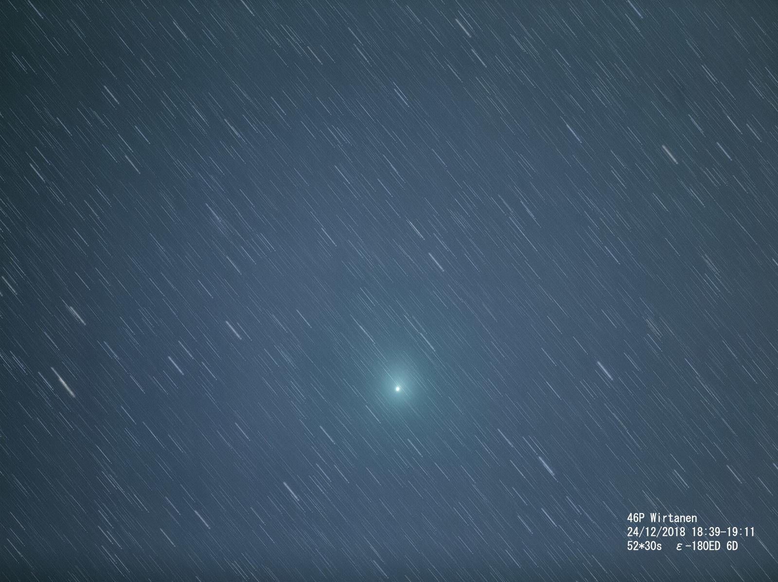 クリスマスの夜のウィルタネン彗星_e0174091_14495497.jpg