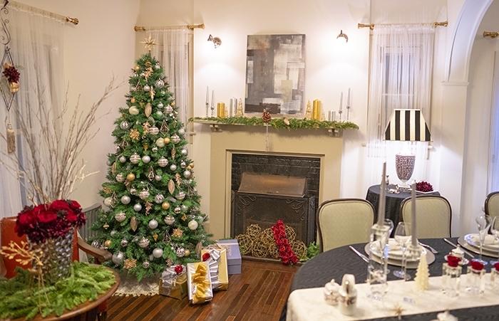山手西洋館・世界のクリスマス2018・山手234番館・山手111番館のクリスマスツリー_b0145398_15484957.jpg