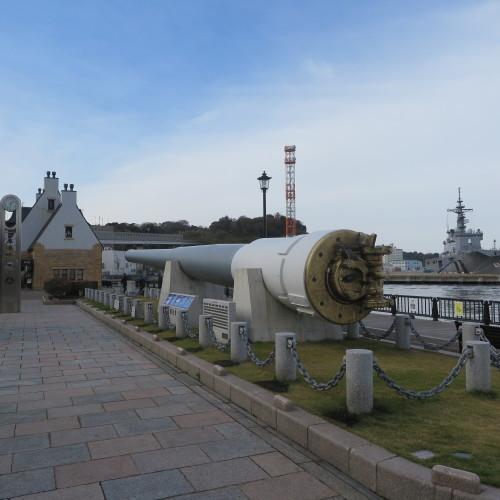 JR横須賀駅前のヴェルニー公園の戦艦陸奥の主砲_c0075701_16412218.jpg