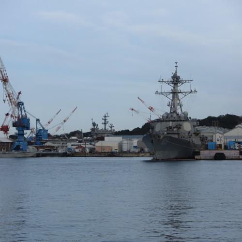 JR横須賀駅前のヴェルニー公園の戦艦陸奥の主砲_c0075701_16412721.jpg
