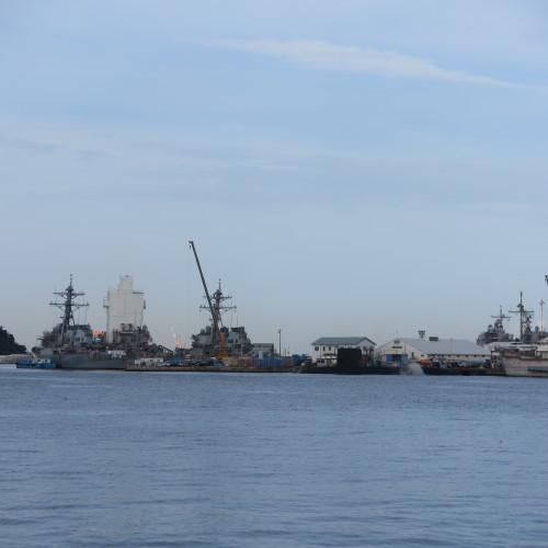 JR横須賀駅前のヴェルニー公園の戦艦陸奥の主砲_c0075701_16413081.jpg