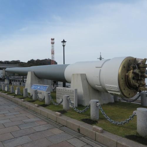 JR横須賀駅前のヴェルニー公園の戦艦陸奥の主砲_c0075701_16414062.jpg