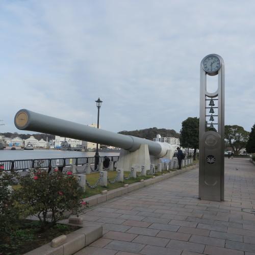 JR横須賀駅前のヴェルニー公園の戦艦陸奥の主砲_c0075701_16433652.jpg
