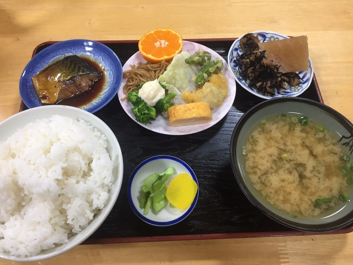 ますこ食堂 日替定食_e0115904_12242202.jpg