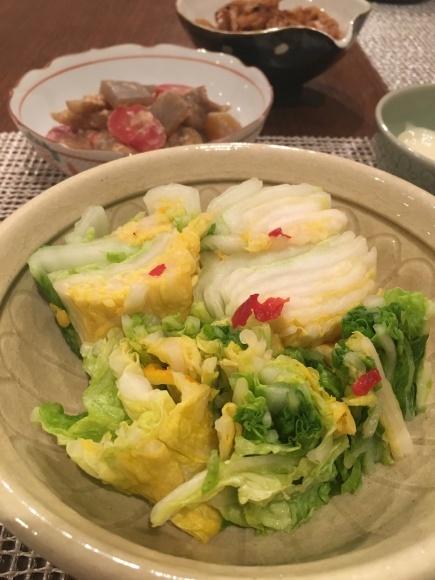 漬かりあがりました 〜白菜の漬物〜_d0348118_09173570.jpeg