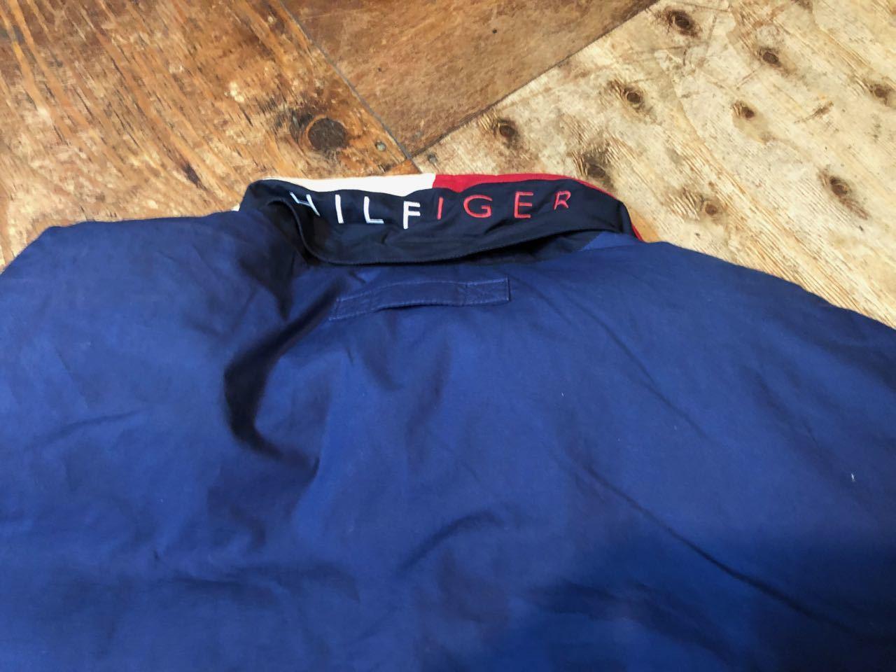 90s TOMMY HILFIGER DOWN JACKET  トミーフィルフィガー ダウンジャケット!_c0144020_14081576.jpg