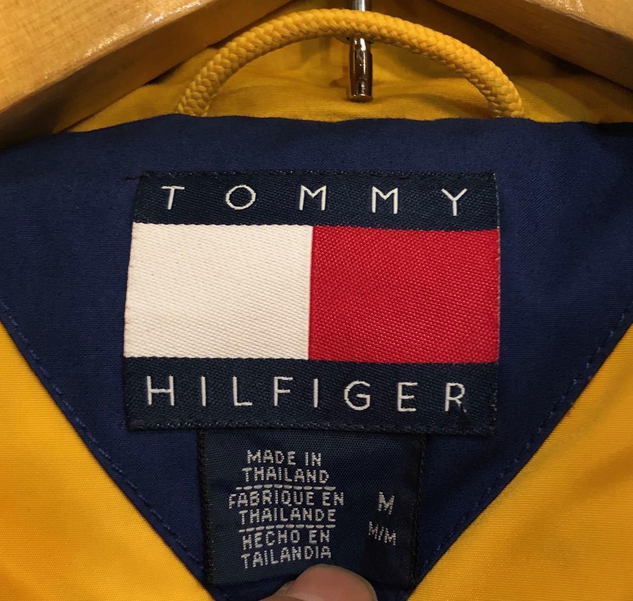 90s TOMMY HILFIGER DOWN JACKET  トミーフィルフィガー ダウンジャケット!_c0144020_14120503.jpg