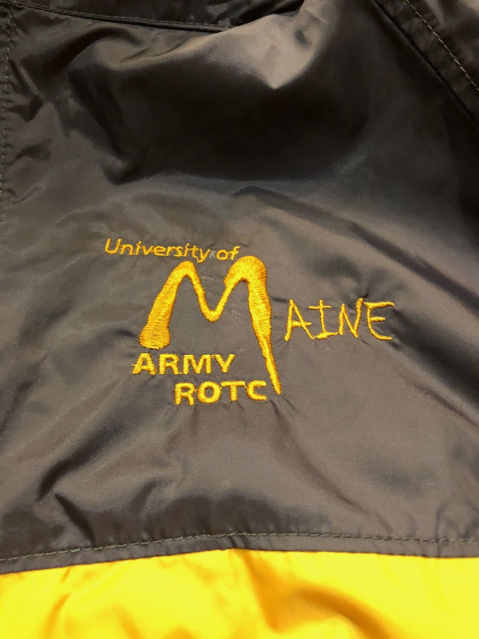 Columbia University of MAINE ARMY ROTC JACKET_c0144020_14425592.jpg