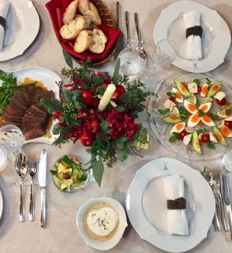 自宅でクリスマスパーティー_c0223630_12241150.jpg