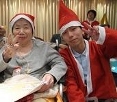 2018年12月25日 緑陽館 クリスマス会_e0163042_16132755.jpg