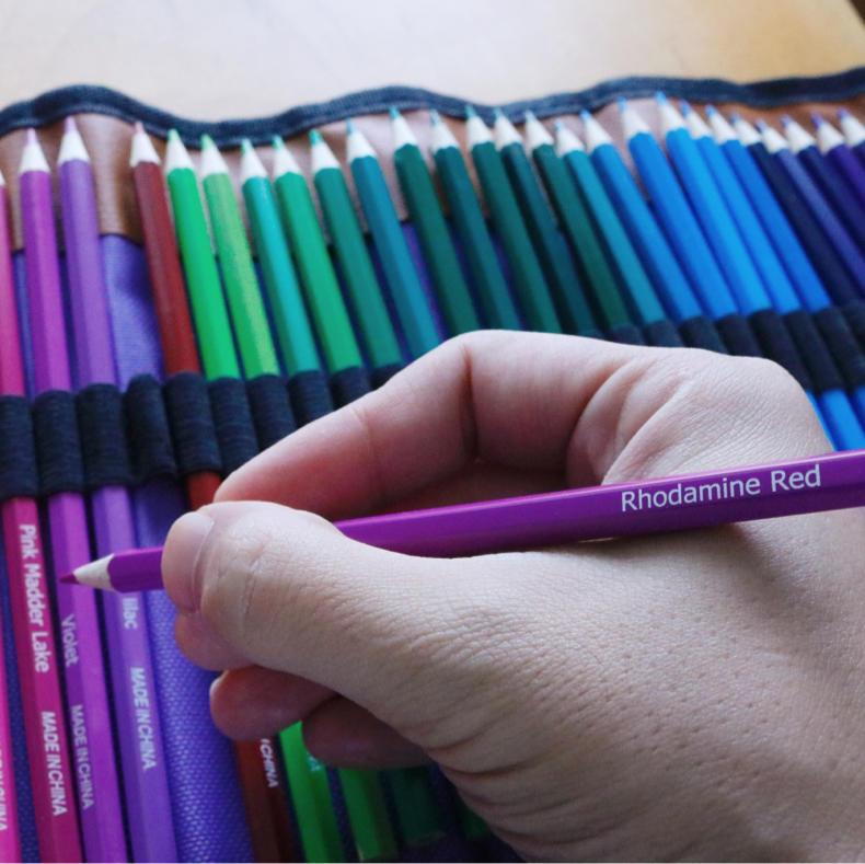 【AD】50色と72色の色鉛筆で合計122本!絵を描くのは楽しい_c0060143_00095168.jpg