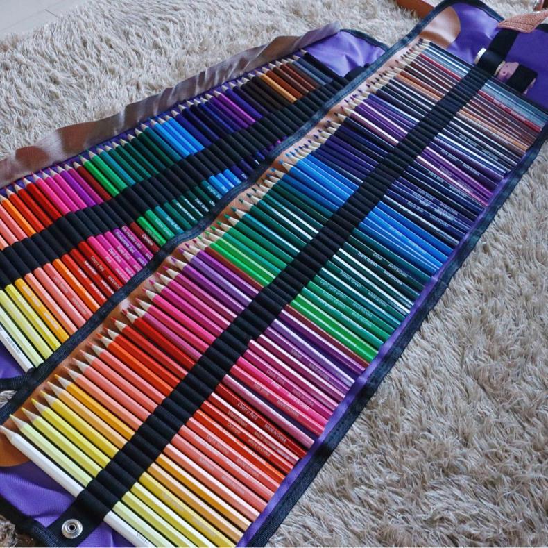 【AD】50色と72色の色鉛筆で合計122本!絵を描くのは楽しい_c0060143_00095333.jpg