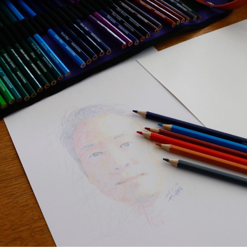 【AD】50色と72色の色鉛筆で合計122本!絵を描くのは楽しい_c0060143_00105354.jpg