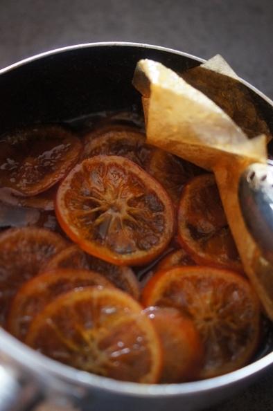 参鶏湯、そして。オレンジコンフィ_f0314272_21380479.jpg