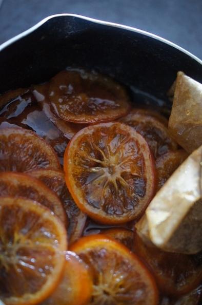参鶏湯、そして。オレンジコンフィ_f0314272_21383653.jpg
