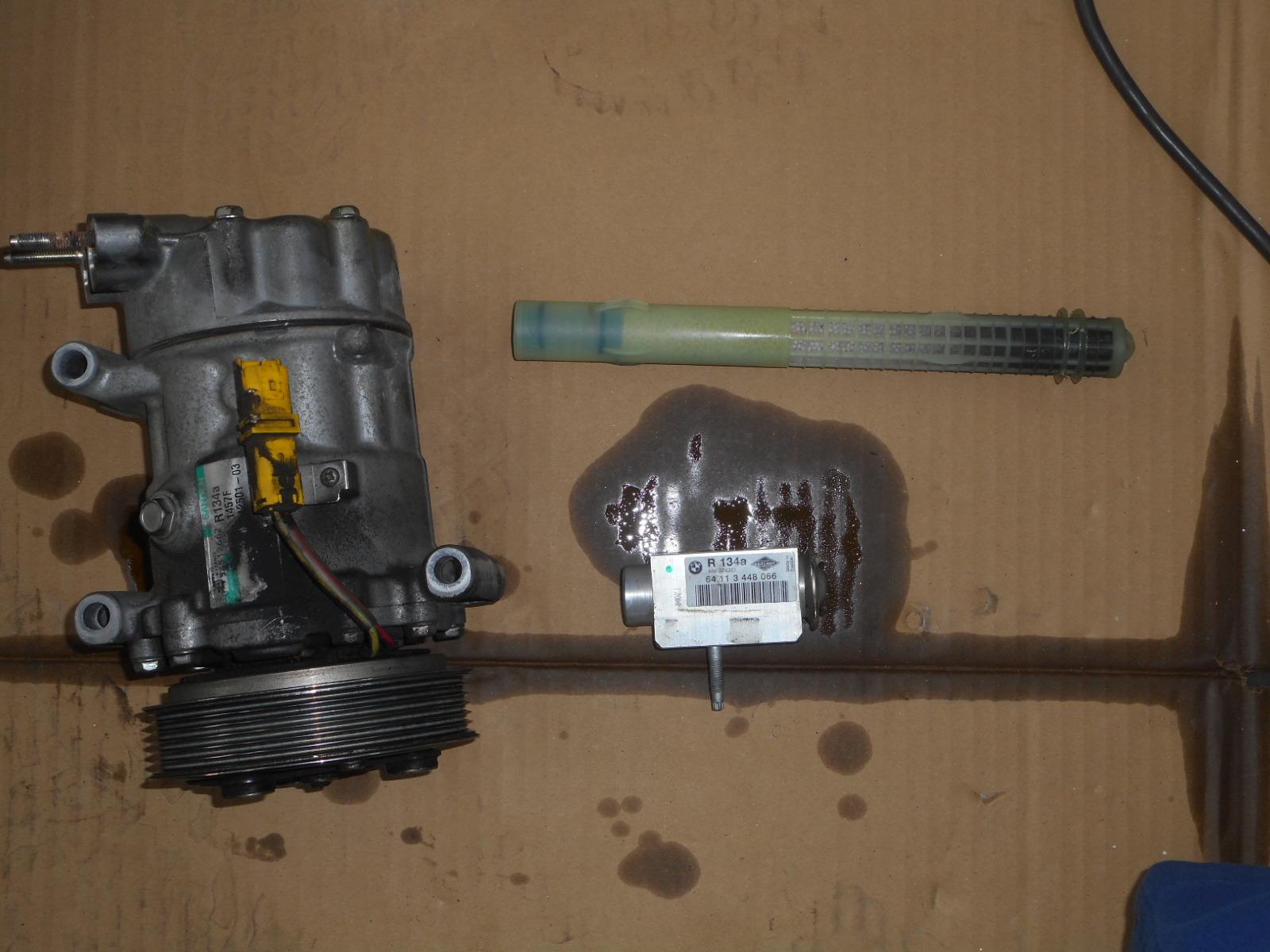 BMWミニ(R56)エンジンチェックランプ点灯修理とエアコン修理_c0267693_18364651.jpg