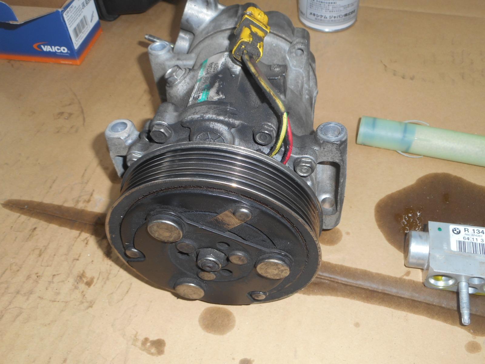 BMWミニ(R56)エンジンチェックランプ点灯修理とエアコン修理_c0267693_18365557.jpg
