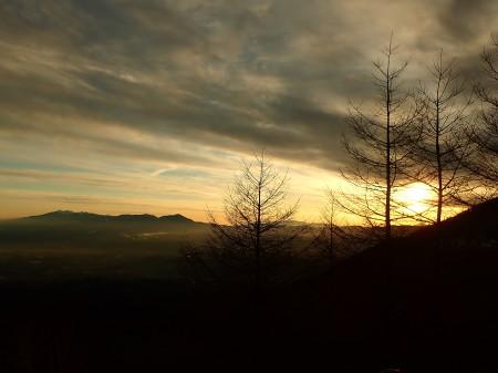 高峰高原の夕暮れ_e0120896_06415339.jpg