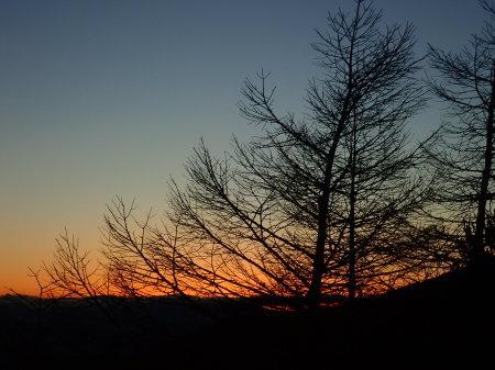 高峰高原の夕暮れ_e0120896_06492564.jpg
