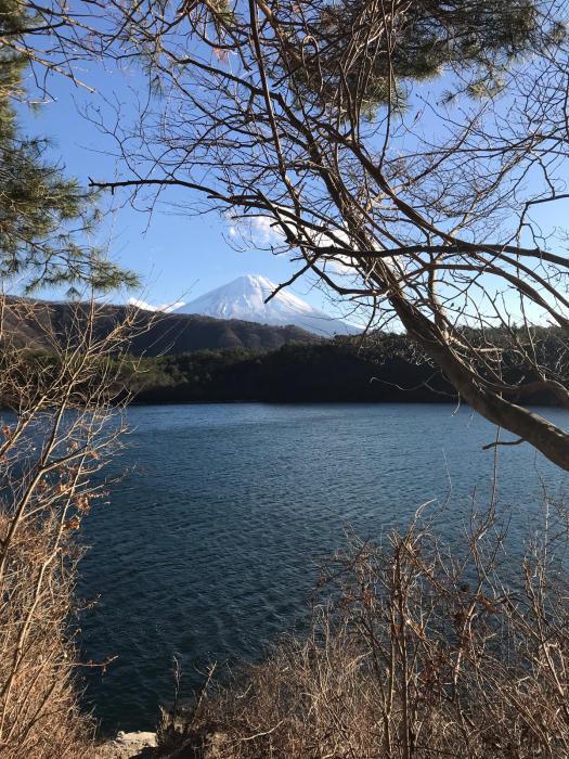 本日の西湖、6℃。_c0301809_18094545.jpg