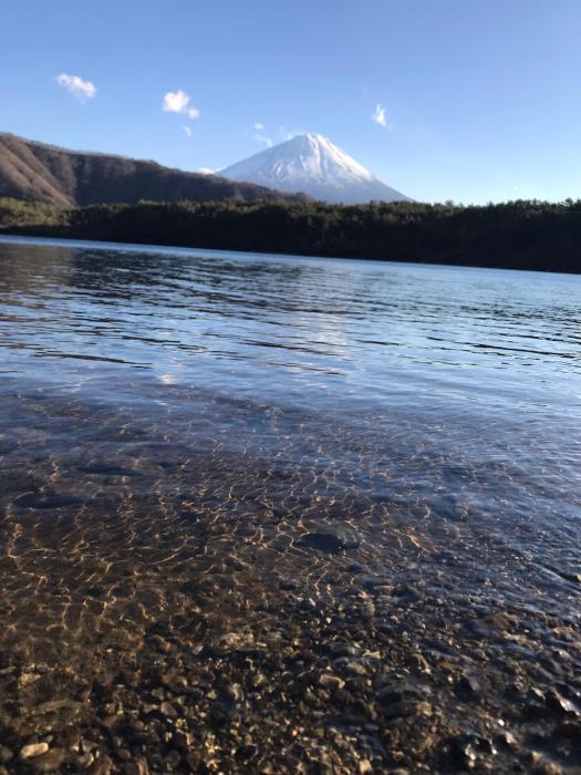 本日の西湖、6℃。_c0301809_18094652.jpg