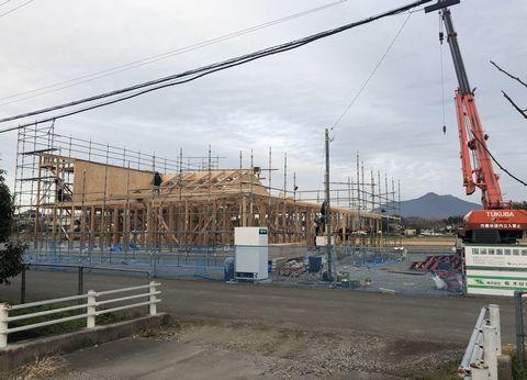 木造のクリニックが上棟しました。_a0059217_09044815.jpg