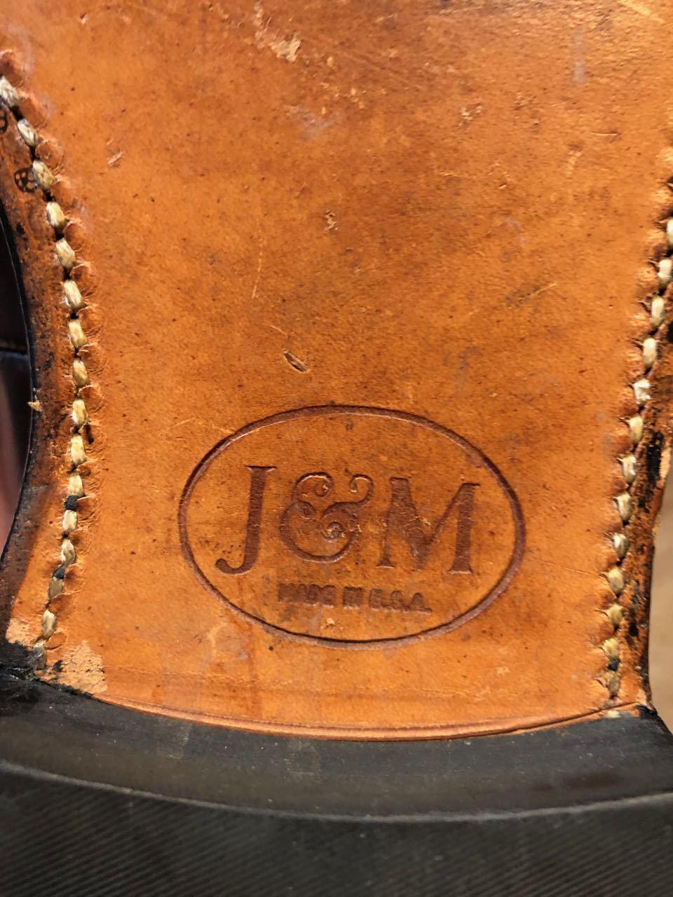 J&M (JOHNSTON&MURPHY) ARISTCRAFT ジョンストン&マーフィー アリストクラフト_c0144020_13085893.jpg