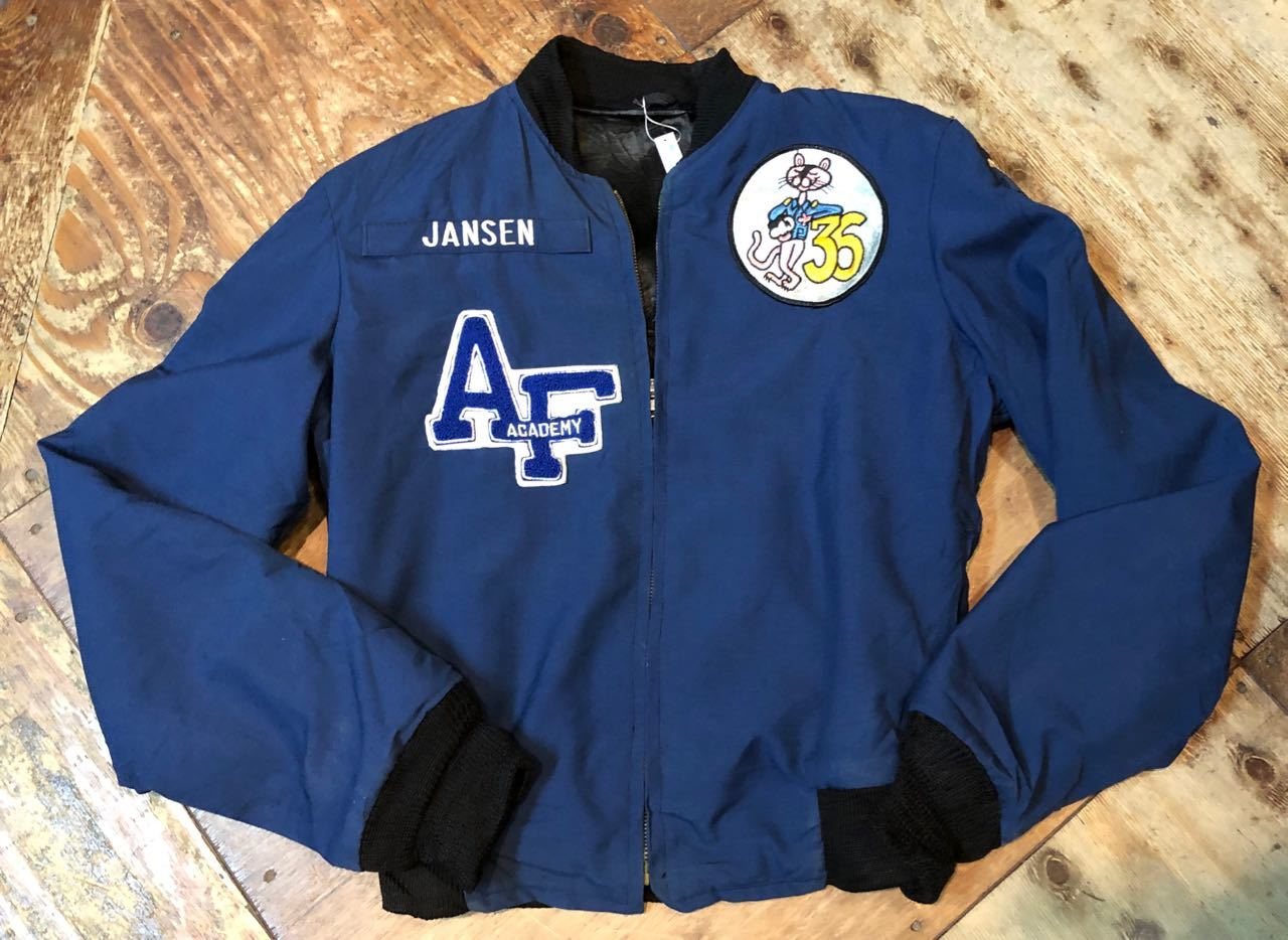 12/28(金) 80s〜スコードロン パッチ付き U.S AIR FORCE ACADEMY JACKET_c0144020_18560900.jpg