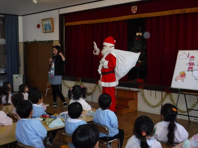 クリスマスパーティーを行いました。_f0227821_14563098.jpg