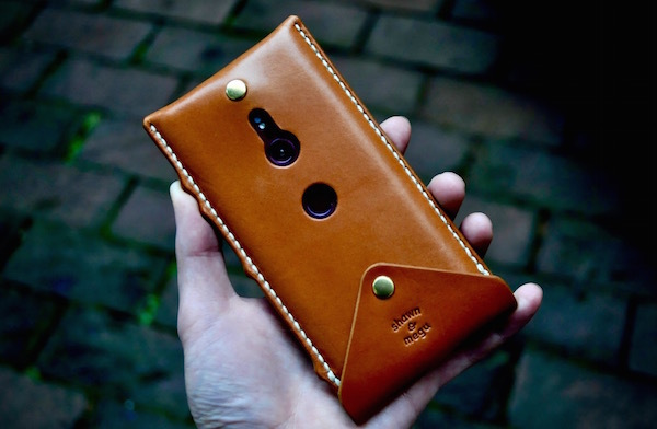 Xperia leather leather case_b0172633_20032221.jpg