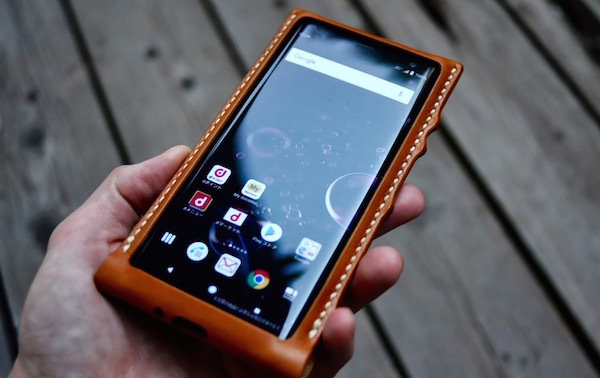 Xperia leather leather case_b0172633_20032245.jpg