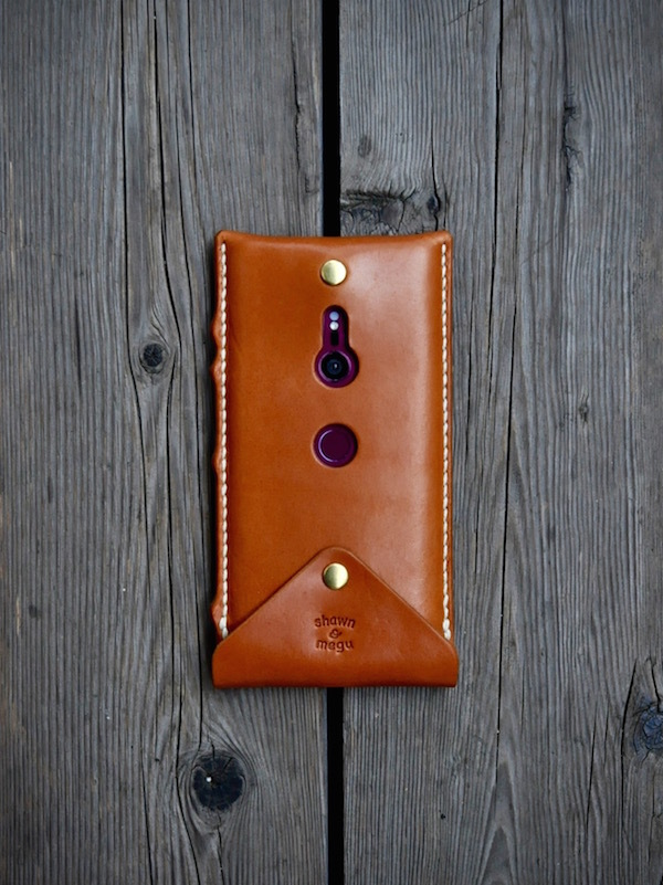 Xperia leather leather case_b0172633_20032331.jpg