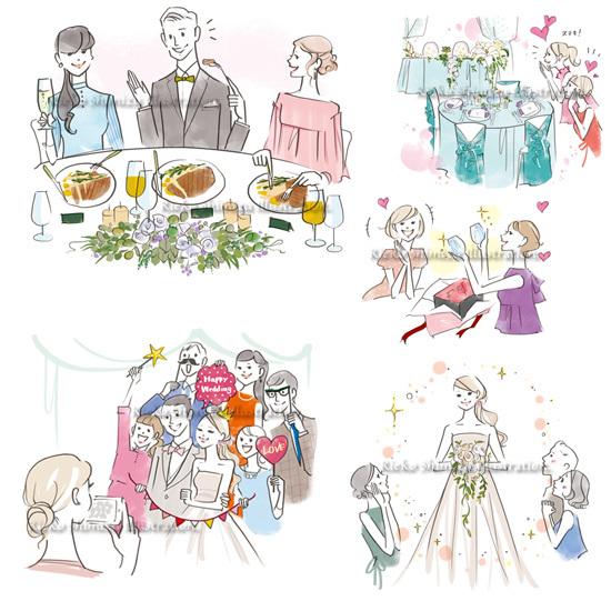 女性誌を中心に活動するイラストレーター 清水利江子の仕事ブログ