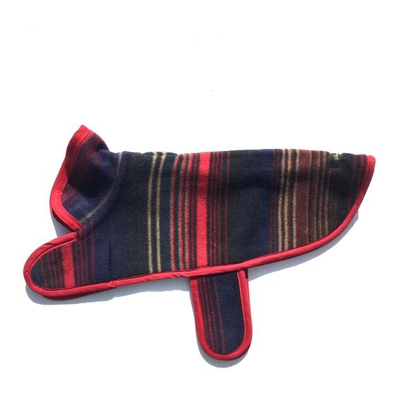 ILKARE Dog Jacket イルカレ ドッグジャケット マルチ ストライプ_d0217958_11453919.jpg