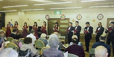 2018 群馬中央病院附属介護老人保健施設訪問クリスマスミニコンサート_d0097259_14544291.jpg