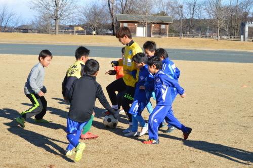至福のサッカー教室。_d0101562_16005450.jpg