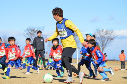 至福のサッカー教室。_d0101562_16013686.jpg