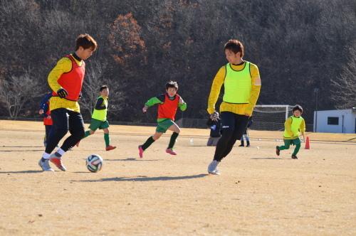 至福のサッカー教室。_d0101562_16015165.jpg