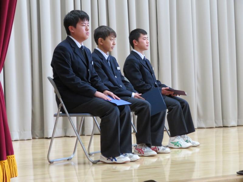 12月26日 2学期終業式を迎えました。_e0359282_14300988.jpg
