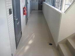 通路・階段防水工事(川崎市)_c0183605_09315380.jpg