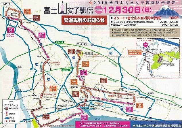 今年の交通整理ボランティアは「いただきへのはじまり」の和田町交差点 近づく富士山女子駅伝_f0141310_08024780.jpg