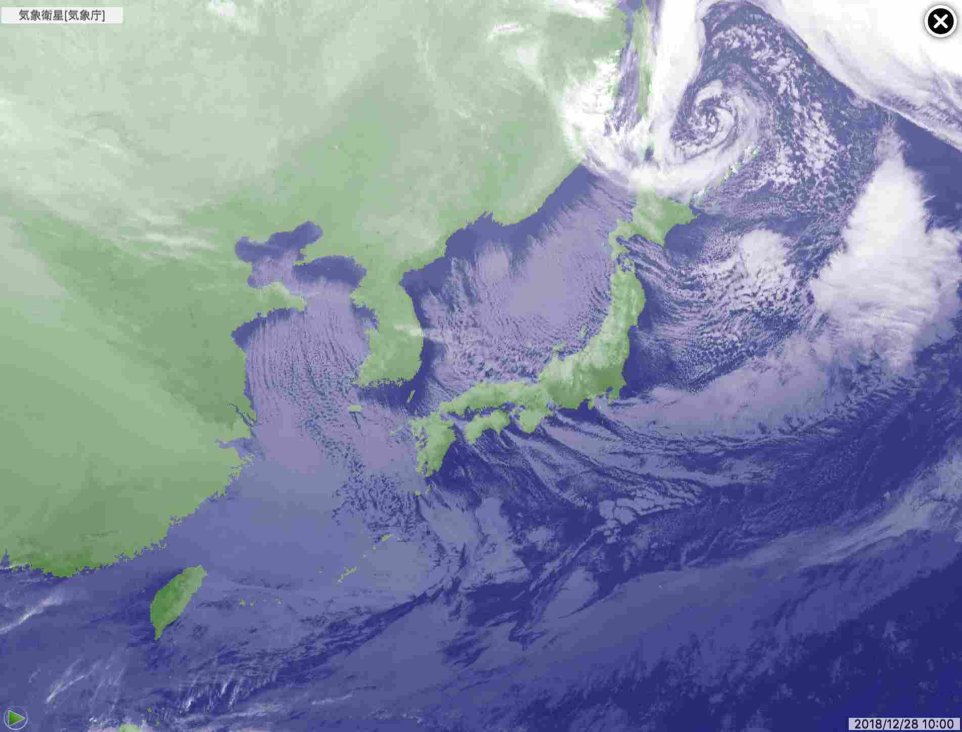 年末寒波の底は昨日だったらしい_c0025115_23284314.jpg