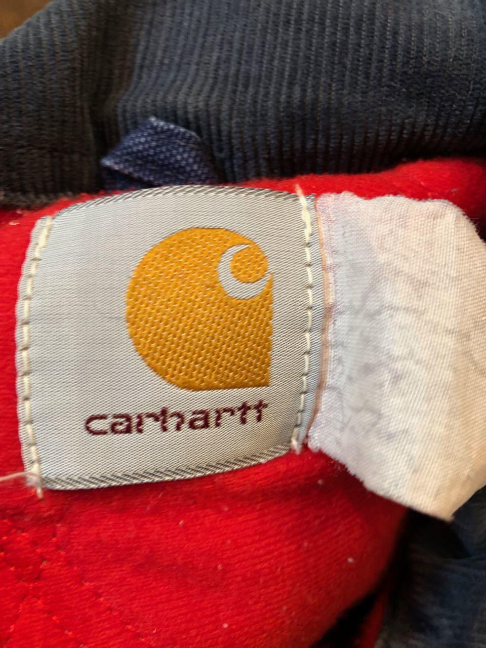 12月29日(土)入荷! 90s〜CARHARTT カーハート NAVY DUCK ジャケット!_c0144020_20030929.jpg