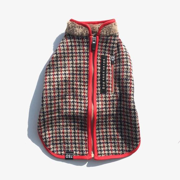 seven seas dog raising fleece  jacket 超起毛 フリース ドッグジャケット_d0217958_208914.jpg