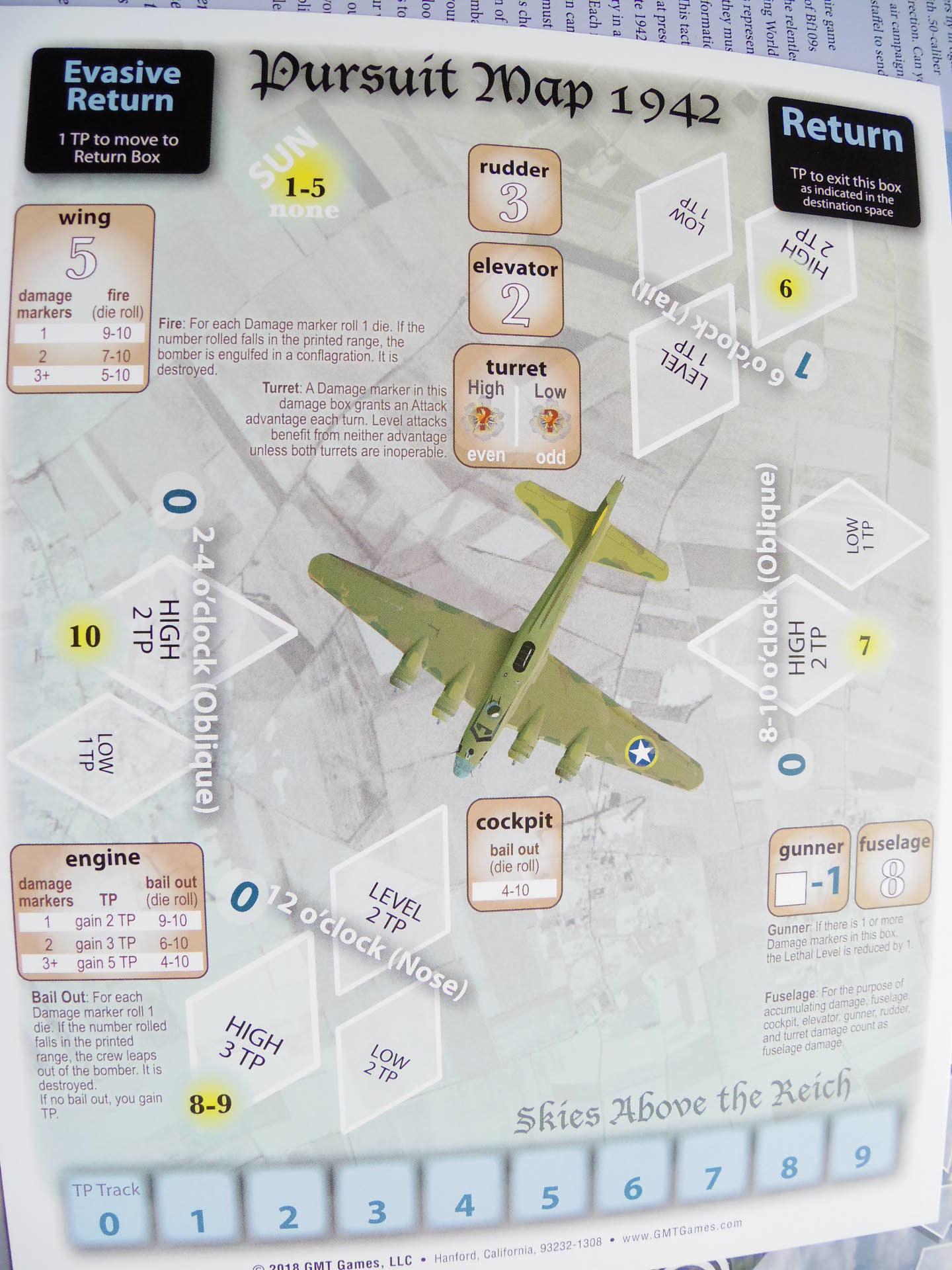 (GMT)Skies Above the Reich ドイツ本土昼間防空戦(ソロ専用)...かつてのウォーゲーム・ブーム期を上回る勢いで続々と出版される最新ゲームたち➁_b0173672_22210711.jpg