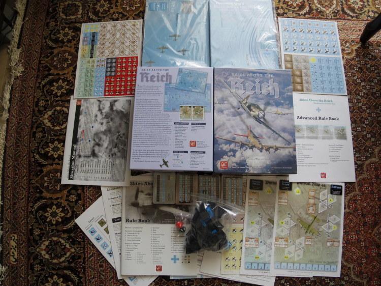 (GMT)Skies Above the Reich ドイツ本土昼間防空戦(ソロ専用)...かつてのウォーゲーム・ブーム期を上回る勢いで続々と出版される最新ゲームたち➁_b0173672_22512478.jpg