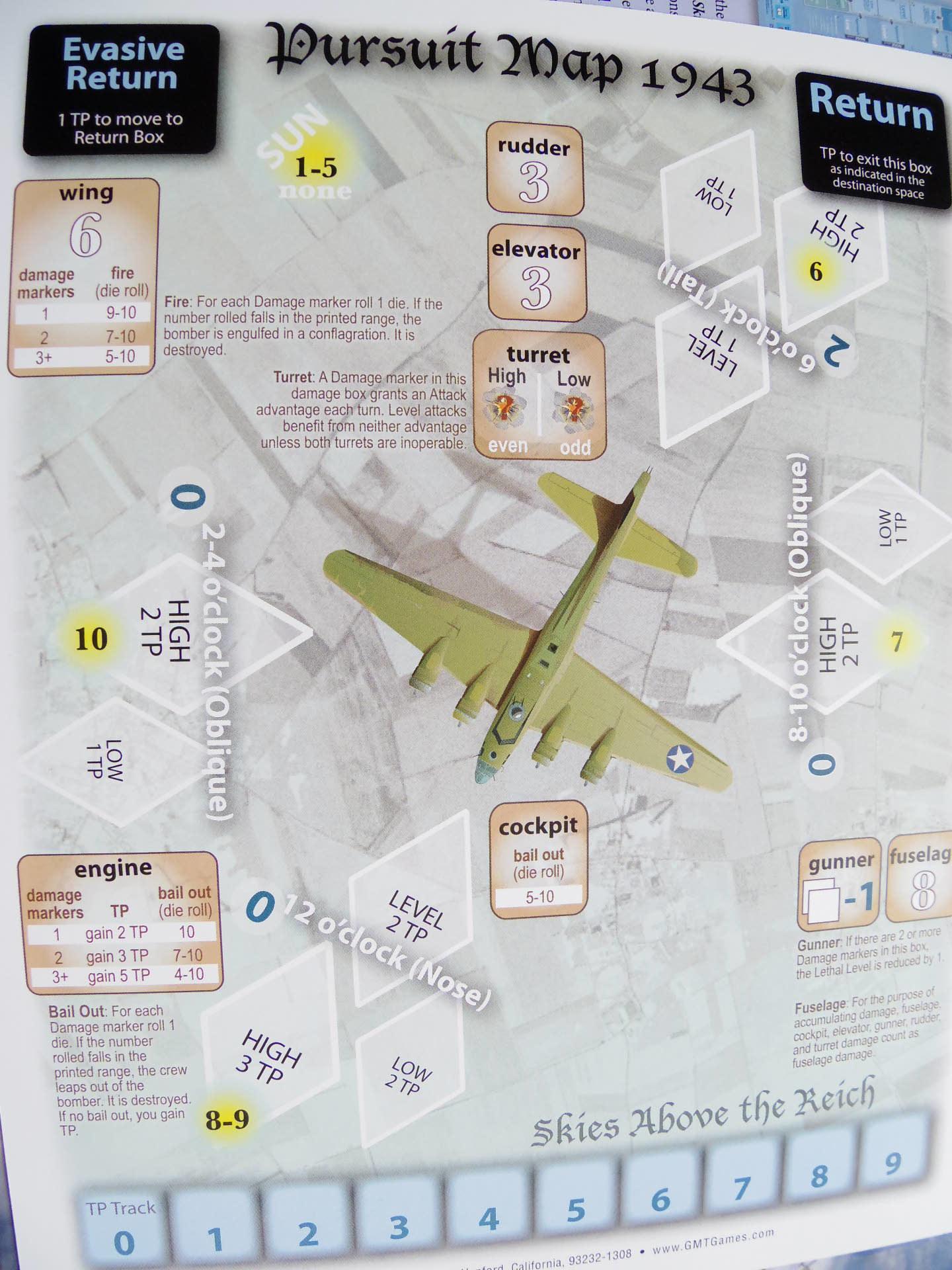 (GMT)Skies Above the Reich ドイツ本土昼間防空戦(ソロ専用)...かつてのウォーゲーム・ブーム期を上回る勢いで続々と出版される最新ゲームたち➁_b0173672_22542896.jpg