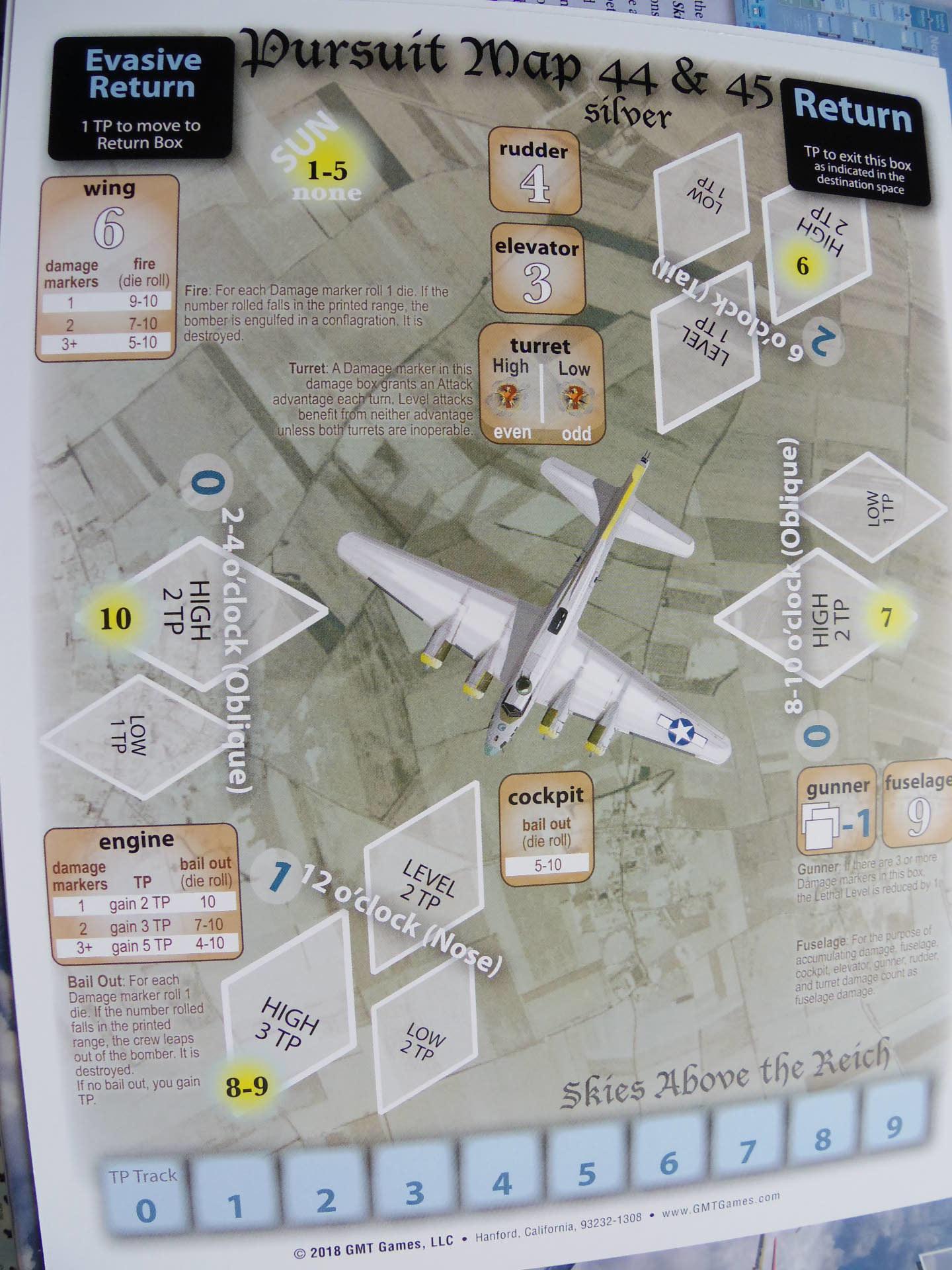(GMT)Skies Above the Reich ドイツ本土昼間防空戦(ソロ専用)...かつてのウォーゲーム・ブーム期を上回る勢いで続々と出版される最新ゲームたち➁_b0173672_22542969.jpg